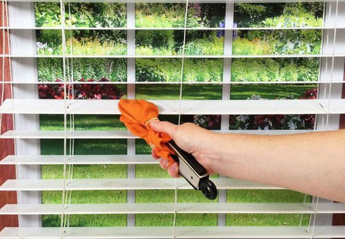 clean easily horizontal blinds