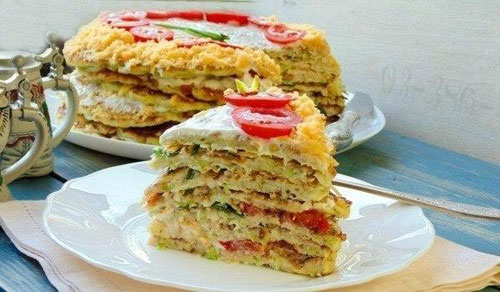 Idea for zucchini cake