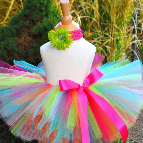 tutu skirt from tulle 010