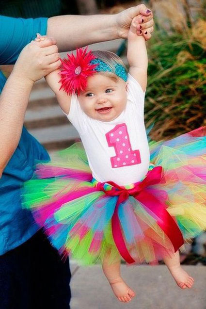 idea tutu skirt from tulle