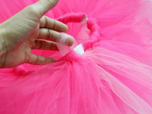 tutu skirt from tulle 08