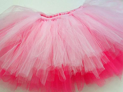 tutu skirt from tulle 09