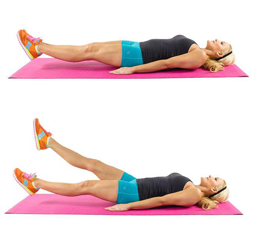 Easy home exercises for abs strengthening